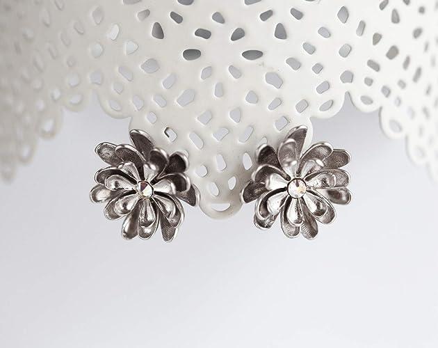 a4b586f5f Amazon.com: Flower earrings Flower earrings studs Flower earrings ...