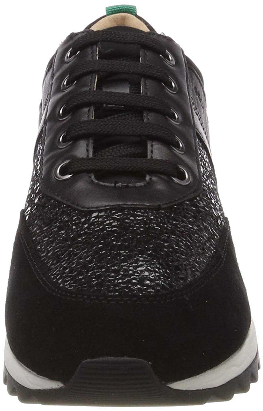 Black C9997 Geox Women/'s D Tabelya B Low-Top Sneakers Black 5 UK