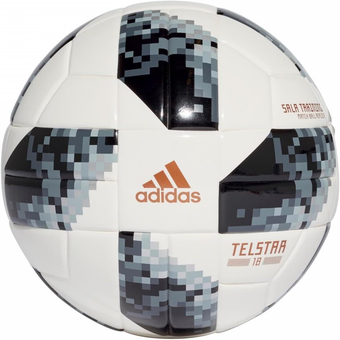 adidas World Cup SLTRN Balón, Hombre, Blanco/Negro/Plamet, FUTS ...