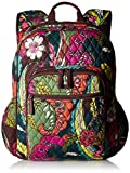 Women's Campus Tech Backpack, Signature Cotton, Autumn Leaves