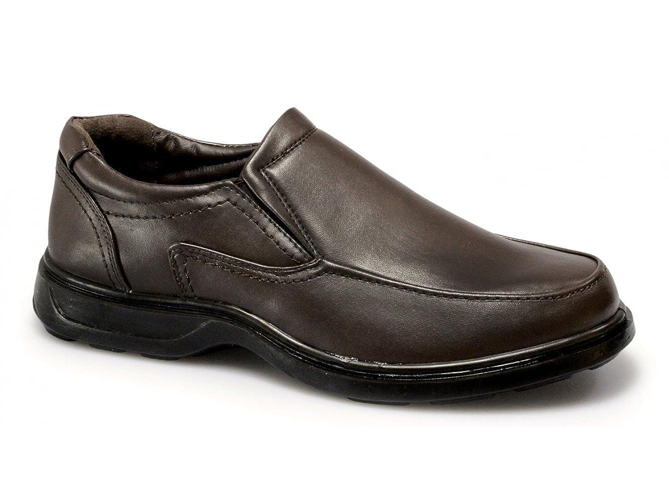 TALLA 42.5 EU. Dr Keller - Mocasines para hombre marrón marrón