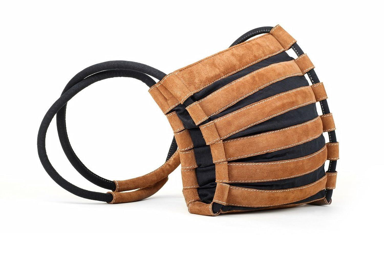 bylin Up&Down 0705 Handbag in cognac