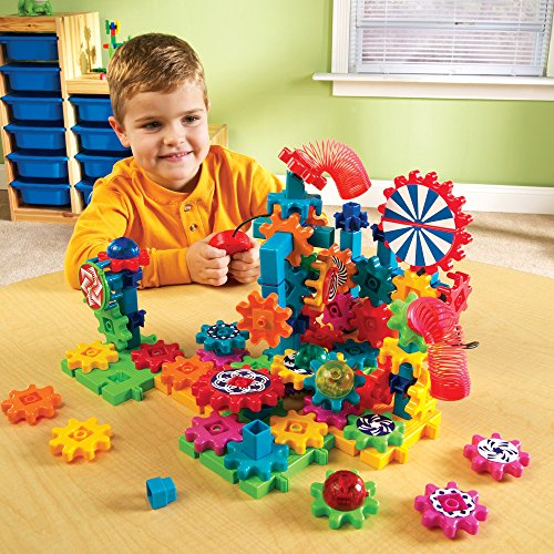 Learning Resources Gears Lights and Action Building Set