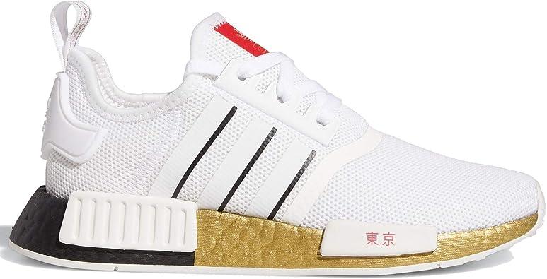 Paciencia Diligencia Docenas  adidas Originals NMD R1 Fy6628 - Zapatillas de correr para niños, blanco  (negro, (White/Black/Scarlet)), 35 EU: Amazon.es: Zapatos y complementos