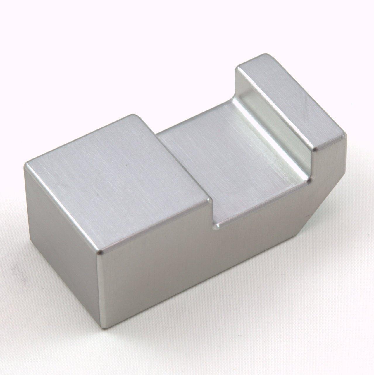 Tungsten Ergonomic Bucking Bar BB-13: 1.64 lbs, Notched Side, 1.0'' x 1.25'' x 2.5''