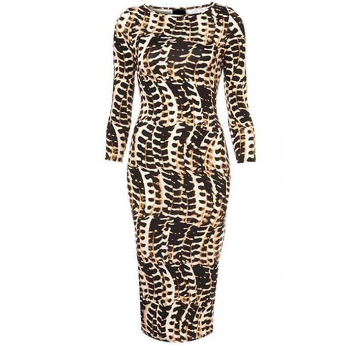 Future HM - Vestido - Noche - para mujer marrón XL
