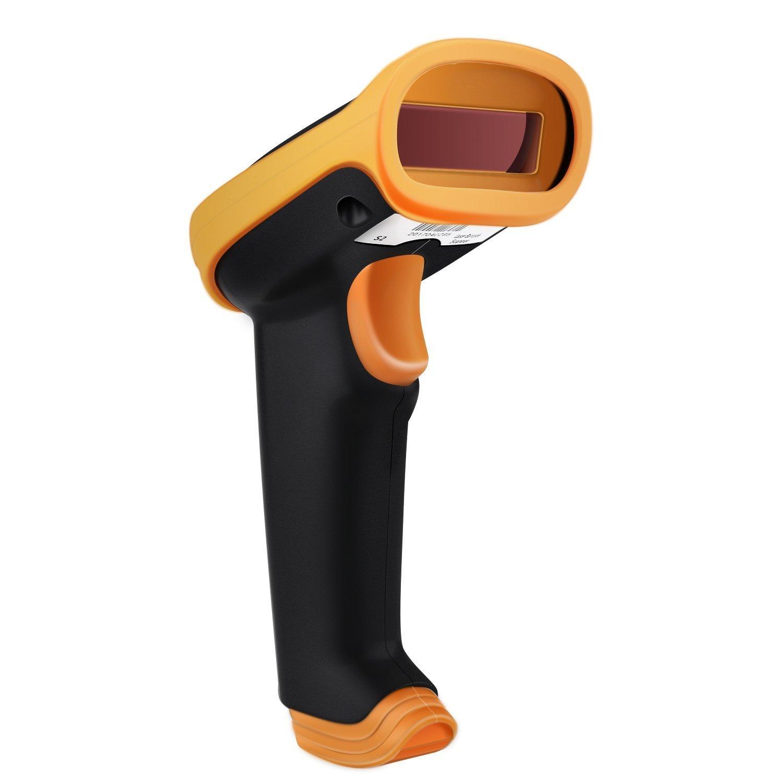 UeeVii D Barcode Scanner G Inalámbrico y USB con Cable Recargable Lector