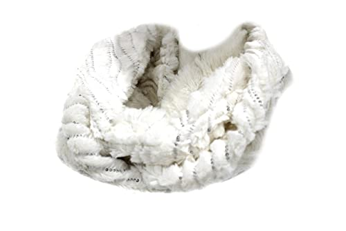 Sciarpa ad anello donna Gian Marco Venturi l.pelliccetta 61662 panna