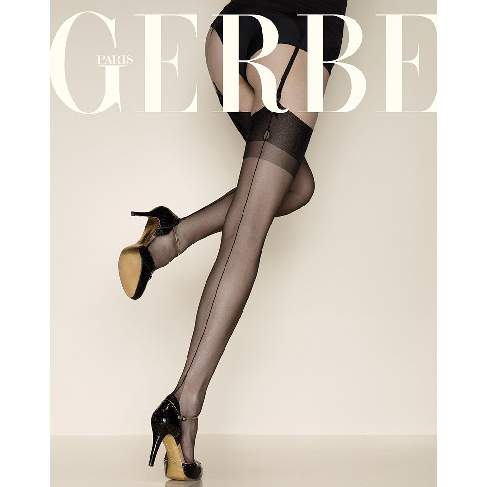 Gerbe Carnation Fully Fashioned Seamed Stockings