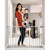 Regalo Easy Step 49-Inch Extra Wide Baby Gate, Includes 4-Inch and 12-Inch Extension Kit, 4…