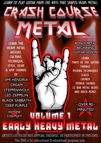 Crash Course Metal 1: Early Heavy Metal [DVD] [2009] [Region 1] [US Import] [NTSC]