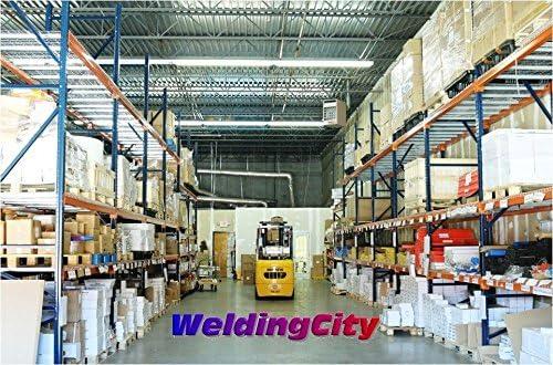 WeldingCity 10-pcs TIG Welding Tungsten Electrode Tri-Element Non-Radioactive Purple//AWS: EWG 1//8 x 7 10-pk