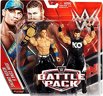 WWE Wrestling Series 39 John Cena & Kevin Owens 6 Action Figure 2-Pack by Wrestling: Amazon.es: Juguetes y juegos