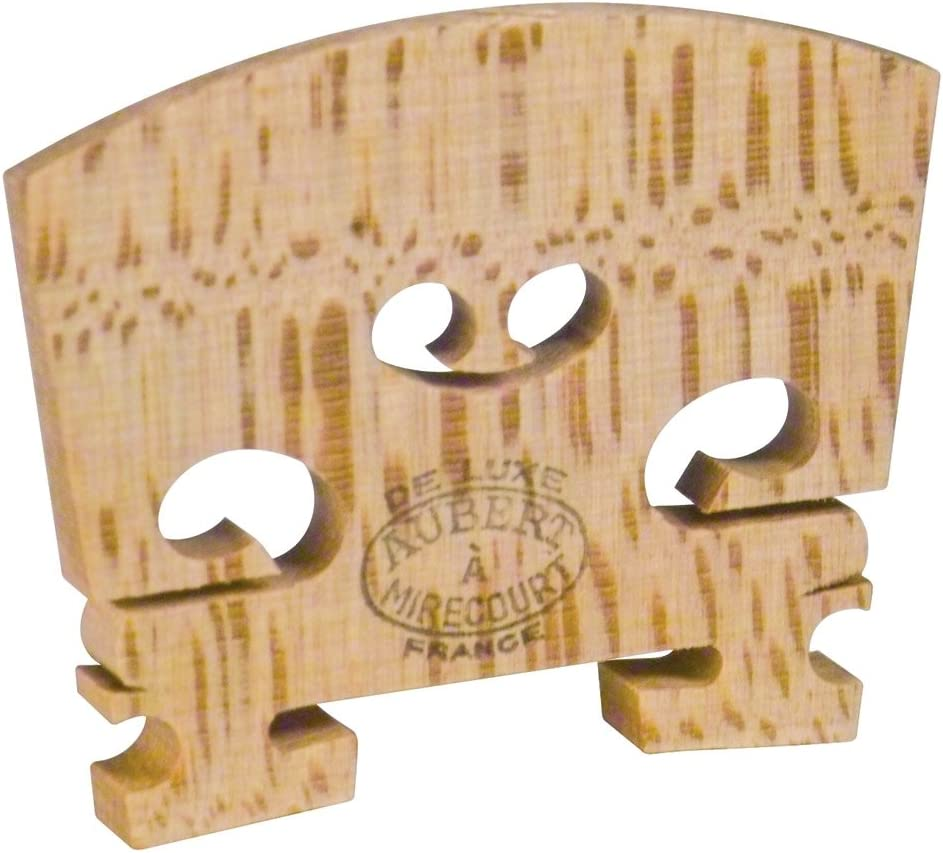 EUROPEAN MAPLE 4//4 FULL SIZE. GENUINE TELLER OF GERMANY VIOLIN BRIDGE