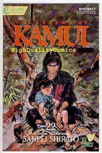 Amazon.com: KAMUI 22, NM, Ninja Story, Sanpei Shirato, Viz ...