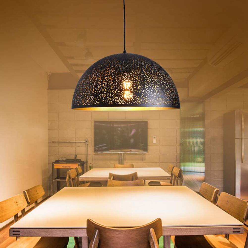 F.A.N.G.Canju Lámpara De Araña Vintage Grabado Tridimensional Lámpara De Techo Lámpara De Techo Restaurante Lámpara,15 * 30Cm: Amazon.es: Hogar