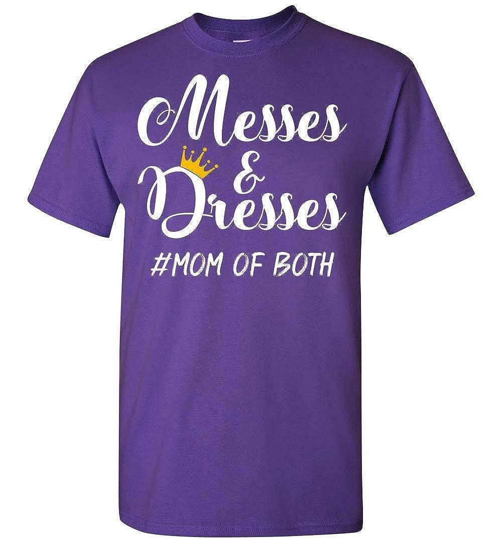 Dura Jonah Messes and Dresses Mom of Both T Shirt