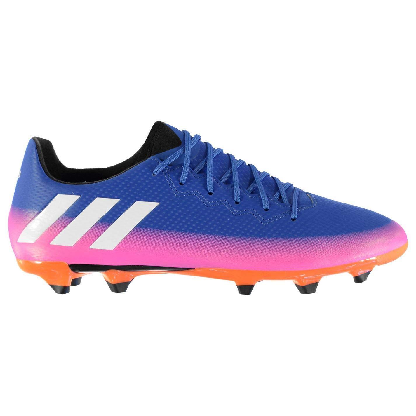 Adida Messi 16.3 FG Fußballschuhe für Herren, Blau Weiß