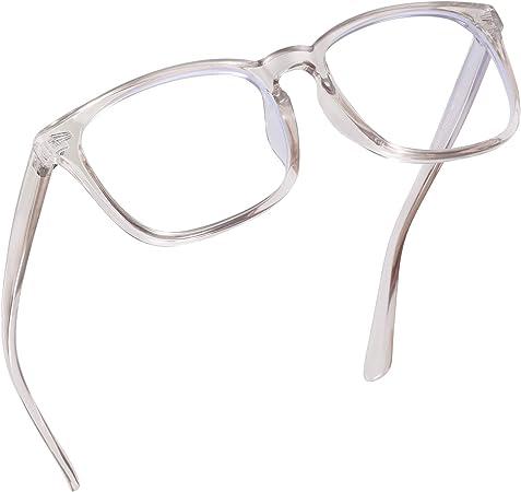 Okany Blue Light Blocking Glasses Women Men Anti Blue Light Glasses Women Lightweight Computer Glasses Anti Glare Eyeglasses for Men