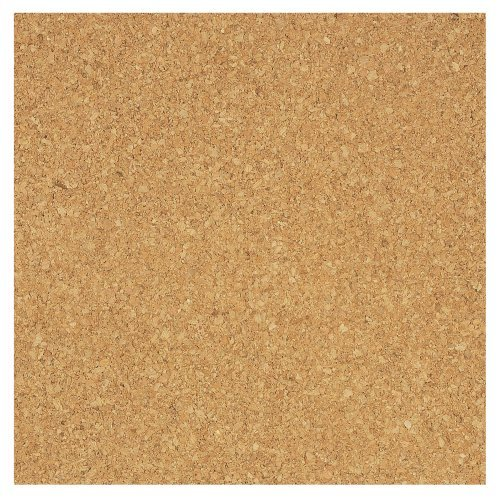 (PACK OF 8)**HIGH QUALITY**Bradforth Cork Tiles, Natural Frameless, 12x12in