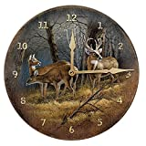 Leaving the Sanctuary – WTD Round Clock by Terry Redlin Review