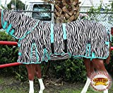 HILASON 66″ UV PROTECT MESH BUG MOSQUITO HORSE FLY SHEET SUMMER SPRING ZEBRA Review