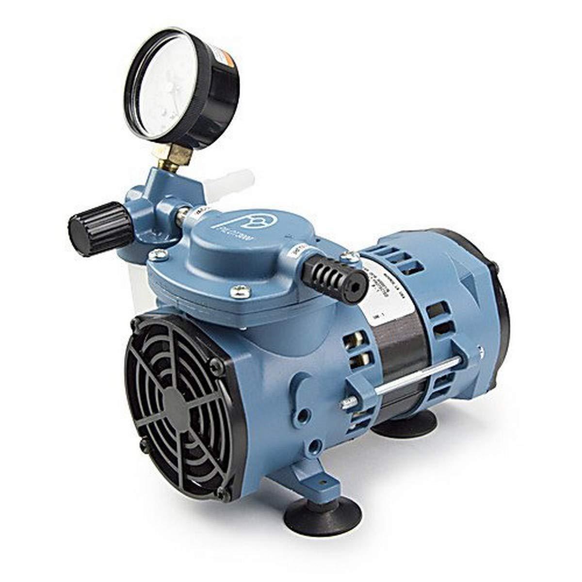 Fischer Technical Company TLD3000 Pilot Economical Chemical Resistant Diaphragm Vacuum Pump, 115V/60Hz