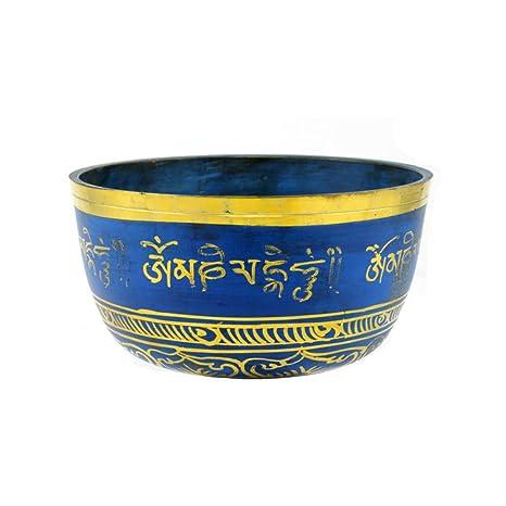 Amazon.com: DZX - Cuenco tibetano para yoga, cobre, cuenco ...