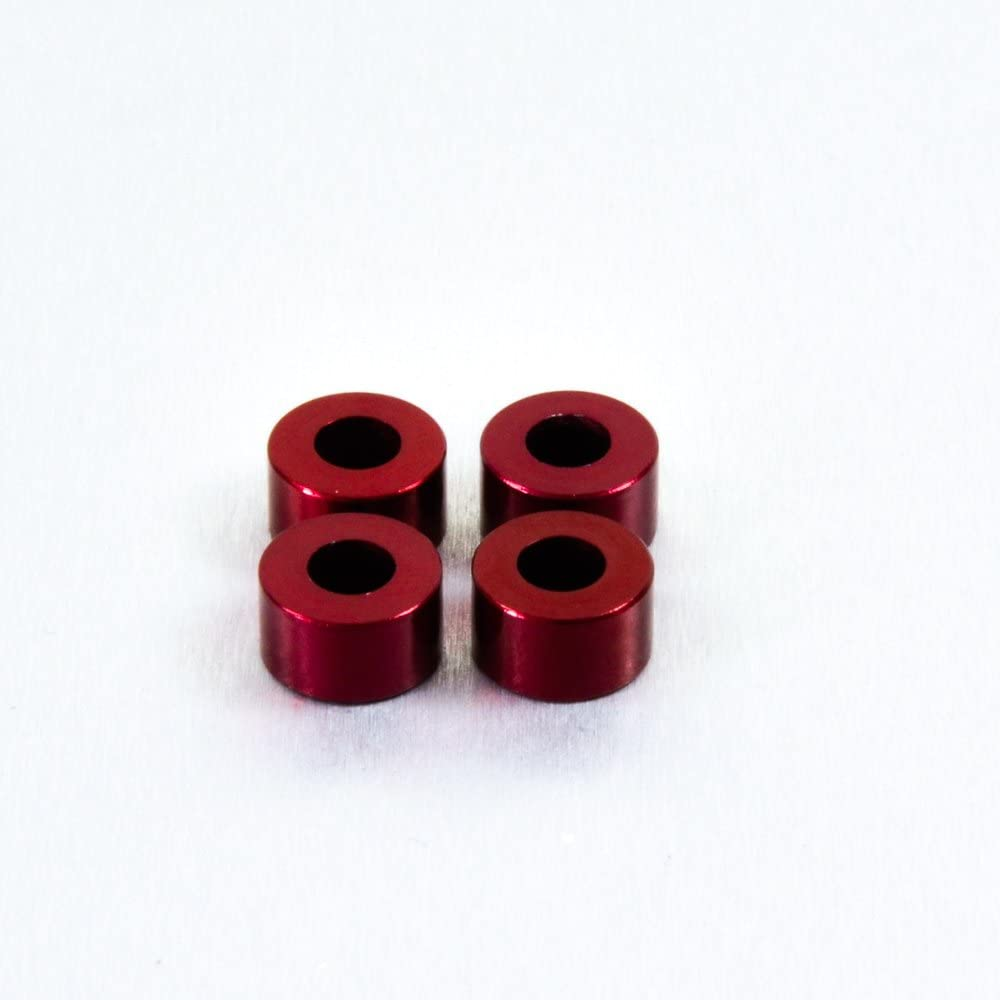 Aluminium Cup Washer M5 Red