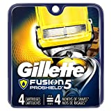 Gillette Fusion Proshield Men's Razor Blade Refills, 4-Count