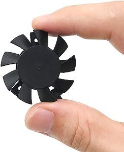 Heatsink Fan for DaHua DVR Fan,HDCVI Camera Fan,DAHUA DVR 5V Motherboard Fan, 5V DAHUA Fan, 2Wire 2Pin Cooler Fan (Fan)