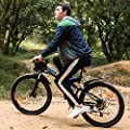 "Speedrid Folding Electric Mountain Bike with 26"" Super Lightweight Magnesium Alloy 6 Spokes Integrated Wheel, 250w Motor, 36v/8AH Large Capacity Lithium-Ion Battery and Shimano Gear"