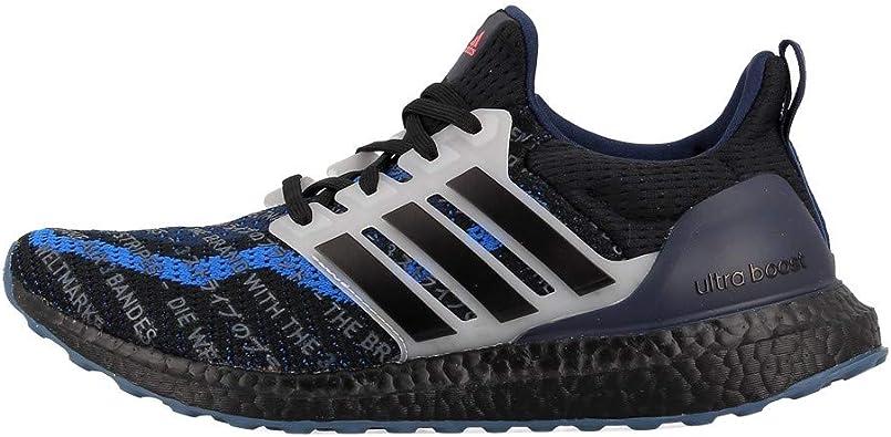 adidas Ultraboost Seoul Edition - Zapatillas para correr para hombre, color azul marino y negro: Amazon.es: Zapatos y complementos