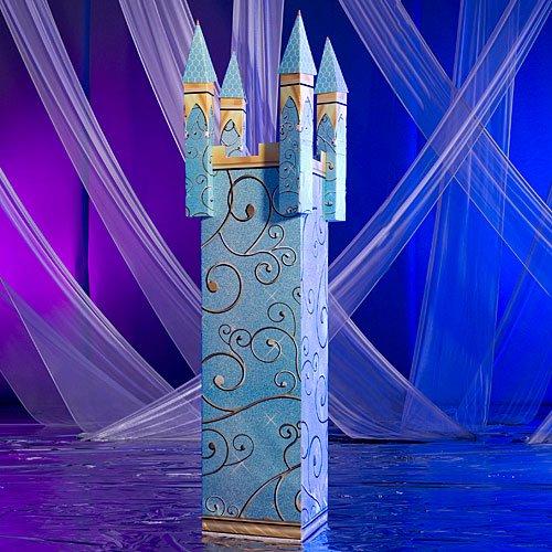 Fairytale Castle Column Standup Photo Booth Prop Background Backdrop Party Decoration Decor Scene Setter Cardboard Cutout