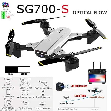 ZORE SG700-S - Drone Quadcopter Hover 4 CH Gran Angular WiFi 4K HD ...