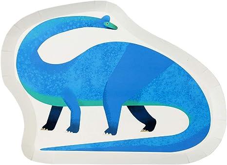 Amazon.com: Talking Tables Dino - Plato en forma de ...