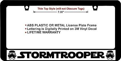 Star Wars Stormtrooper Custom License Plate Car Tag