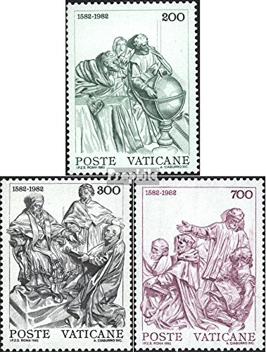 Vatikanstadt 811-813 (Complete.Issue) 1982 Gregorian Calendar (Stamps for - Gregorian Collection