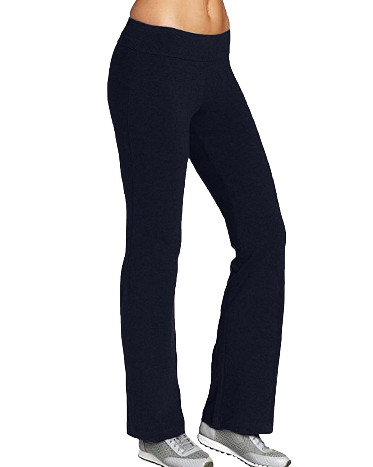 footwear discover latest trends shop for luxury Kidsform Women Stretchy Tracksuit Jogging Bottoms, Boot Cut Yoga Pants,  Ladies Pilates Pants, Workout Gym Running Joggers Bootleg Trousers for  Ladies