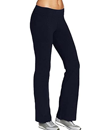 4762151eaea92 Kidsform Women Stretchy Tracksuit Jogging Bottoms, Boot Cut Yoga Pants, Ladies  Pilates Pants, Workout Gym Running Joggers Bootleg Trousers for Ladies: ...