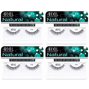 Ardell Lashes Natural 174, 4 Pack