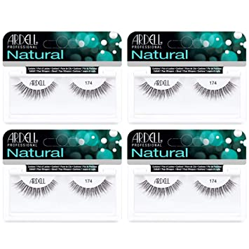 411052ea257 Amazon.com: Ardell Lashes Natural 174, 4 Pack: Beauty