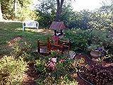 Outdoor Wooden Wishing Well Bucket Flower Plants Planter Patio Garden Home Decor