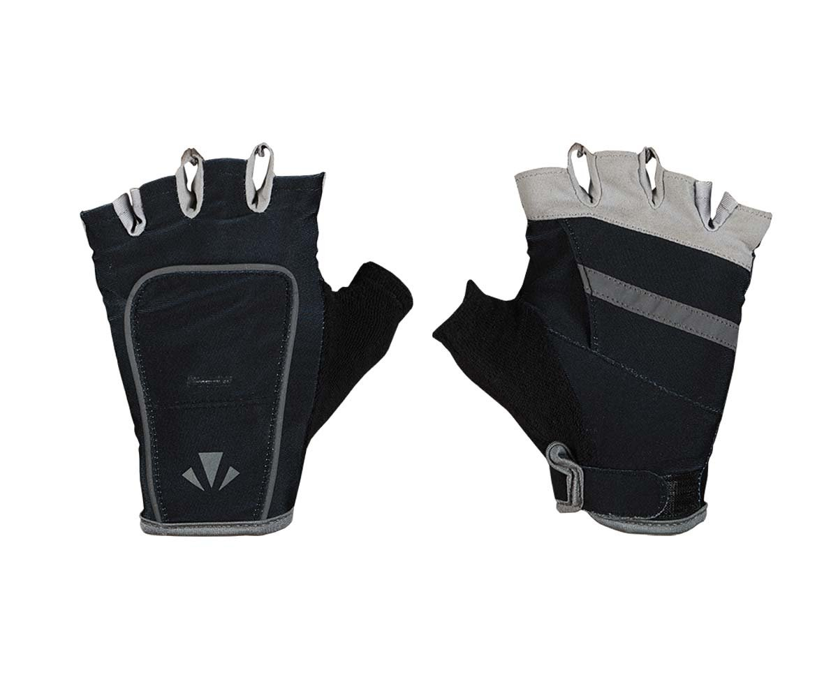 USB Rechargeable LED Lights Gloves with Lights RunLites Mangata Half-Gloves