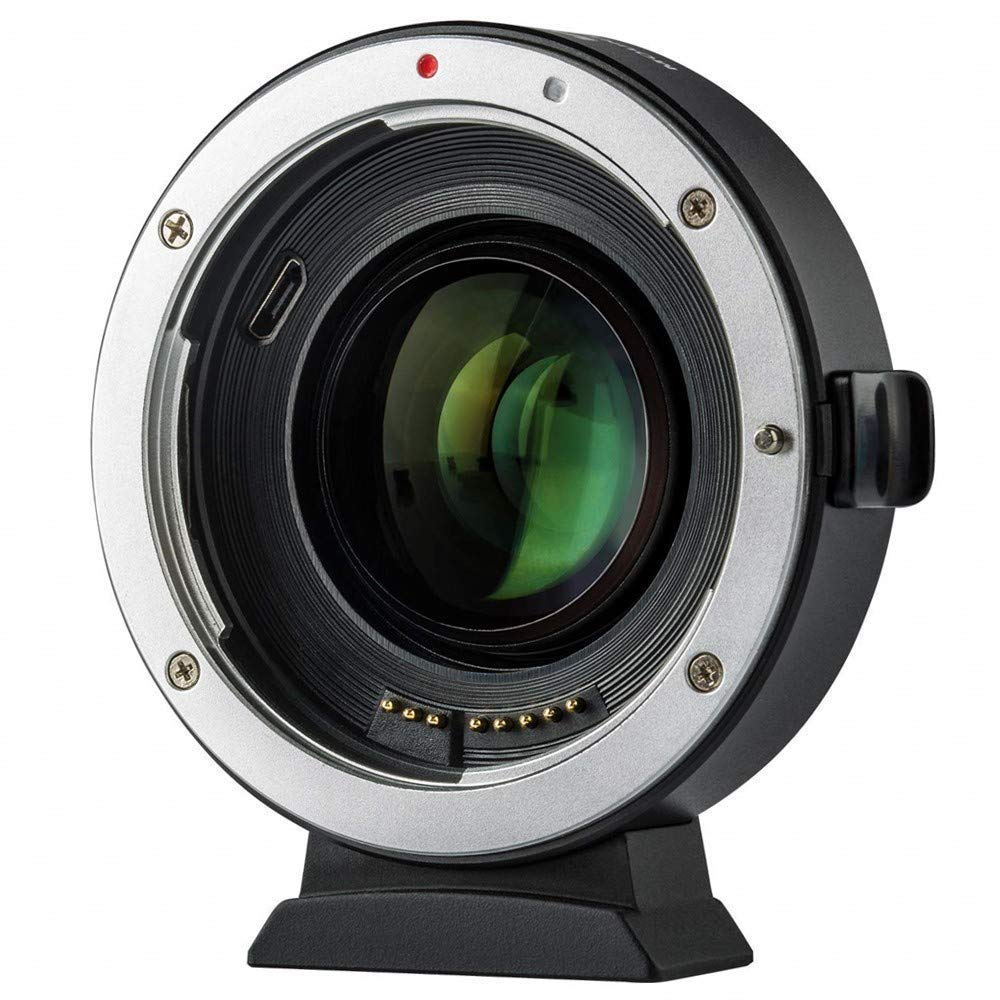Viltrox EF-M2 II Auto Focus Lens Mount Adapter for Canon Eos EF Lens to Micro Four Thirds EF-M43 Cameras GH4 GH5 GF6 GF1 GX1 GX7 E-M5 E-M10 E-PL5 by VILTROX