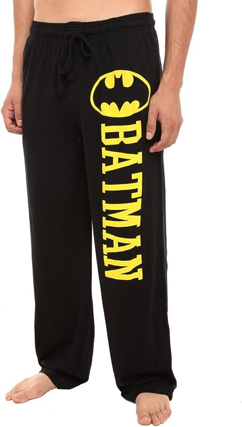 Hot Topic DC Comics Batman Guys Pajama Pants, Black, Small