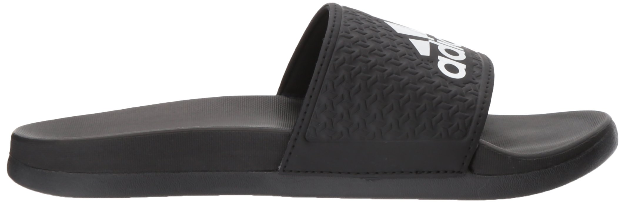 adidas Unisex-Kids Adilette Clf+ K Sandal,core black,White, core black,6 M US Big Kid by adidas (Image #7)