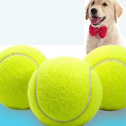 Diámetro Perro Masticar Juguete Pet Ball Gigante Pelota de Tenis ...