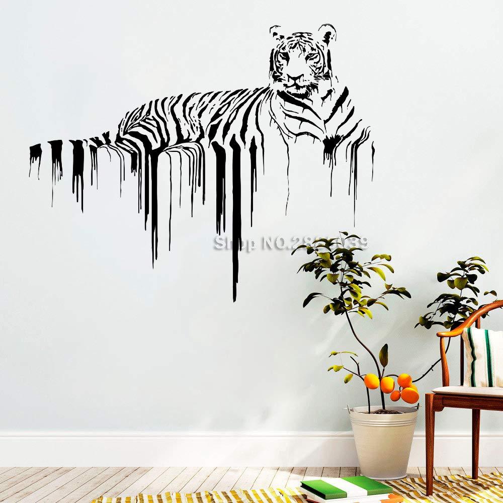 Ajcwhml Nuevo Anuncio Tigre Tatuajes de Pared Animal Arte de ...