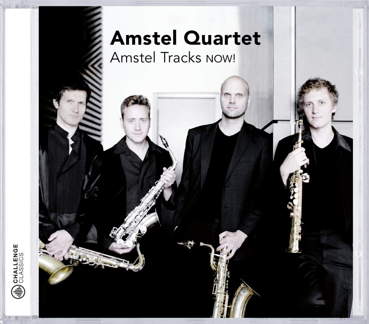 Amstel Tracks Now! Quatuor de saxophones.